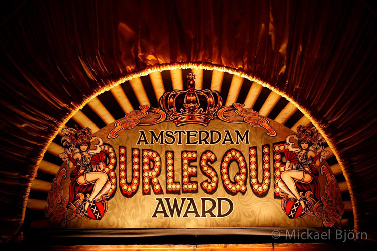 welcome to the Amsterdam Burlesque Award 2015