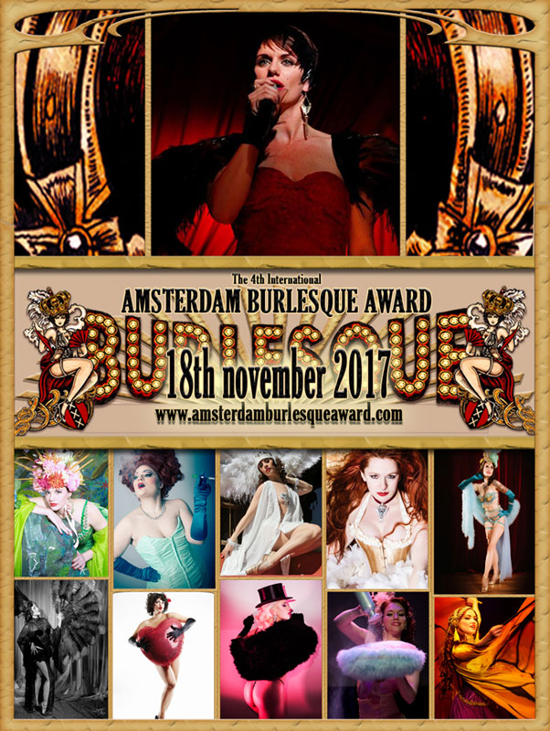 The Classic Burlesque  Night of the 4th Annual International Amsterdam Burlesque award 2017 -  with aftershow party by DJ Charley